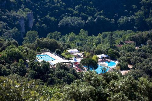 piscines depuis belvedere